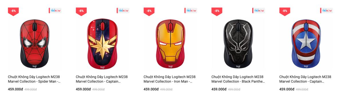 Bắt kịp deal hot của Logitech trênTiki.vn